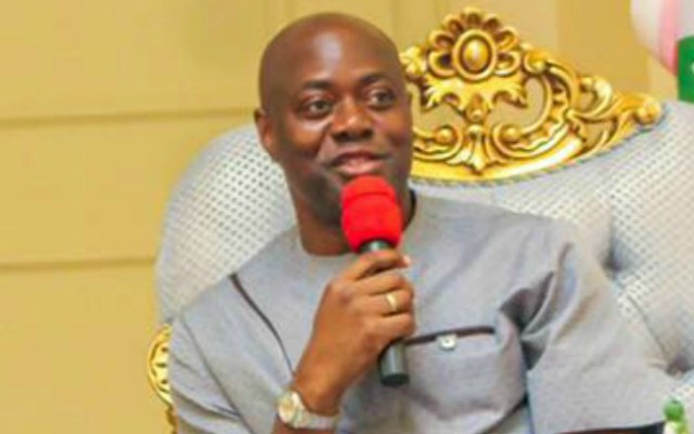 ...Engr Seyi Makinde, the governor of Oyo State...