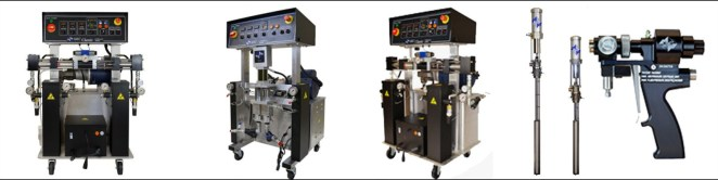 Plural Component Proportioners PMC ППУ установки высокого давления