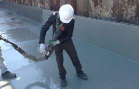 Защита бетона полимочевиной