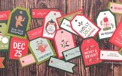 12 Days: Even More Easy Christmas Gift Tags