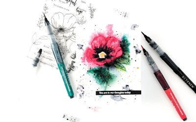 Speedcolor: Recreating a Once-in-a-Lifetime Watercolor
