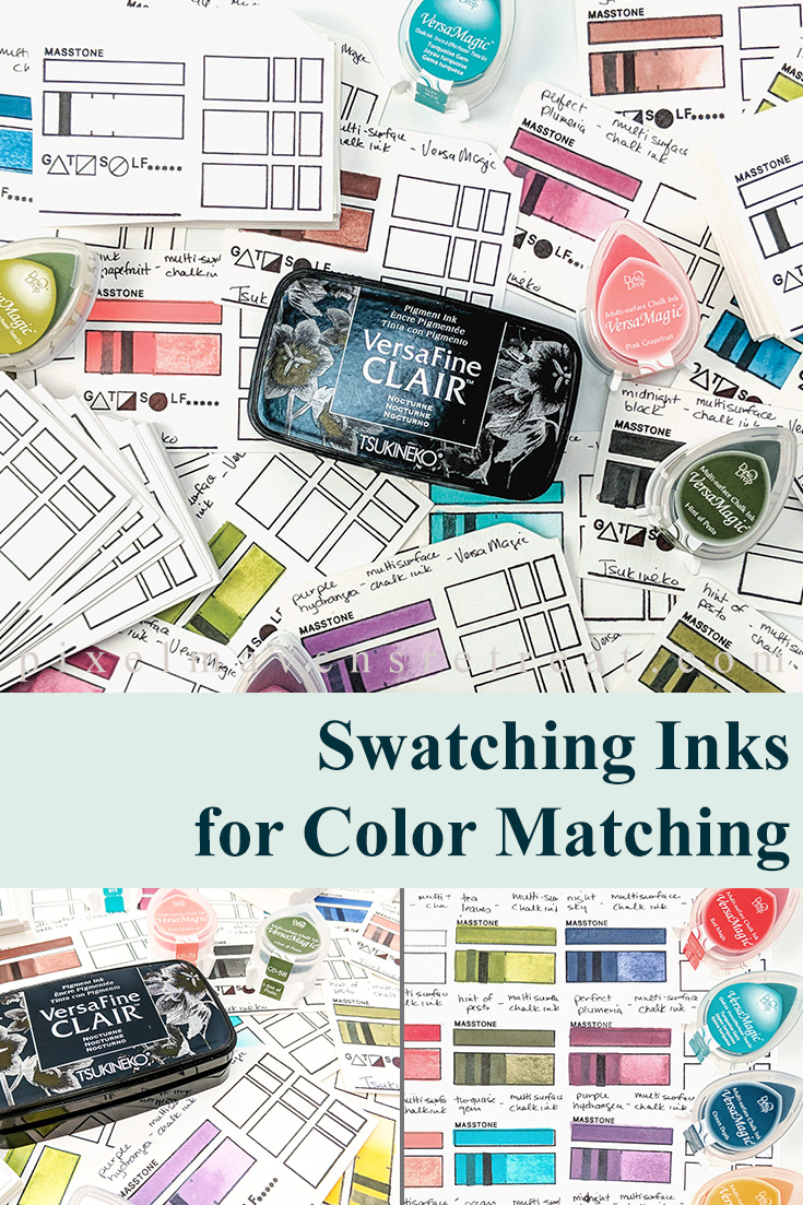 Ink Swatching for Easy Color Matching