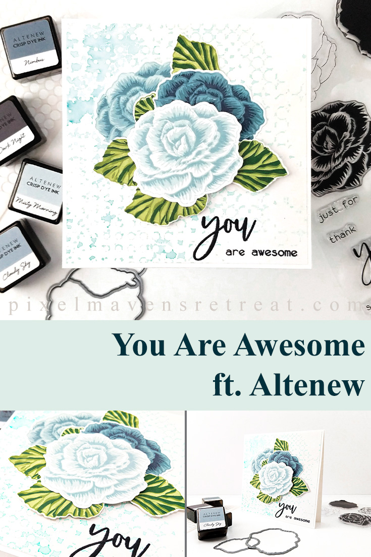 Altenew Build-A-Flower: Begonia Release Blog Hop + Giveaway