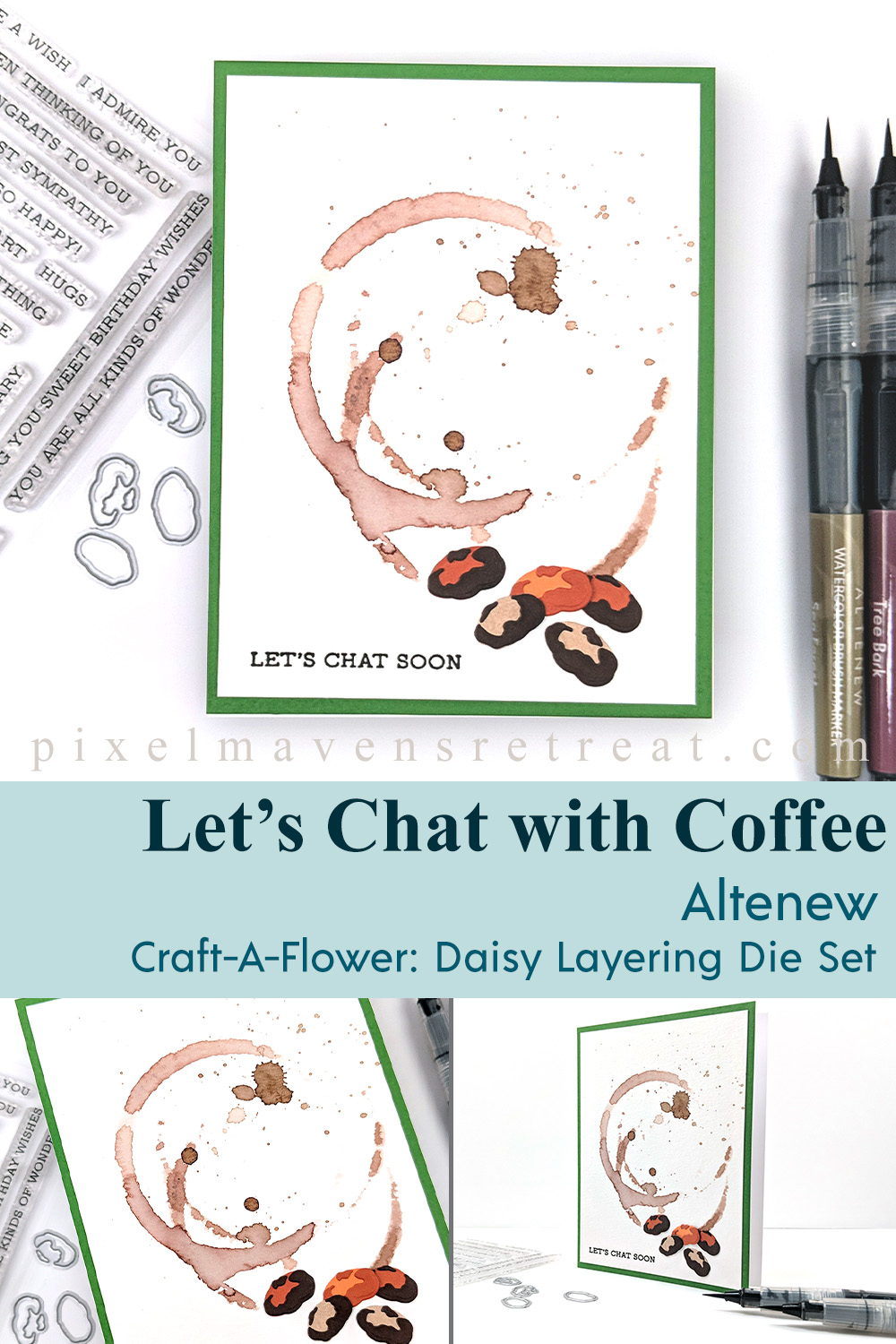Altenew Craft-A-Flower: Daisy Release Blog Hop + Giveaway