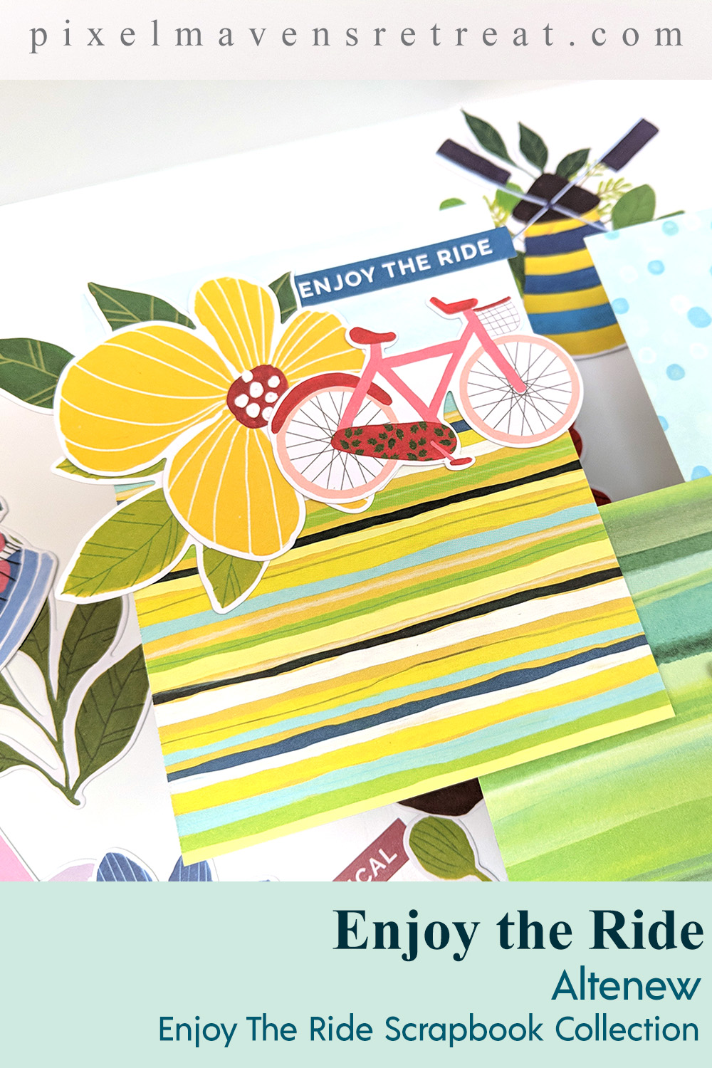 Altenew Enjoy the Ride Scrapbook Collection Release Blog Hop + Giveaway