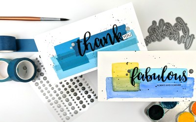 Sweet Single-Layer Slimline Cards | Altenew Sketch Starters #12