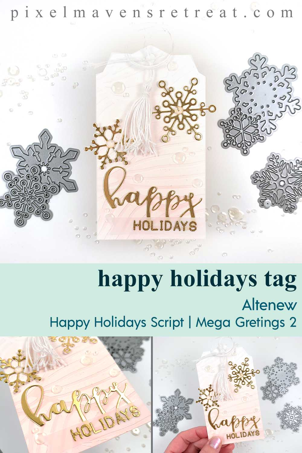 25 Days of Christmas Tags - Day 3 with Altenew!