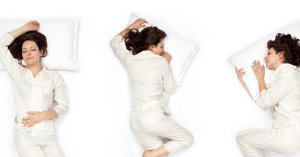 best sleeping positions for neck and