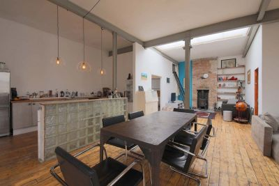 Hipster Loft Style Warehouse Flat In Hackney For Film