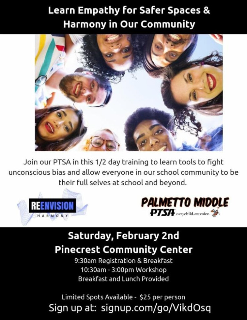 Parent Training - Empathy & Community Building Flyer