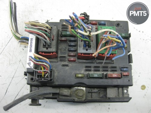 small resolution of fuse box peugeot 206 1999 buy moskva 9646405480 bsm5 23858625 engine fuse box peugeot 206
