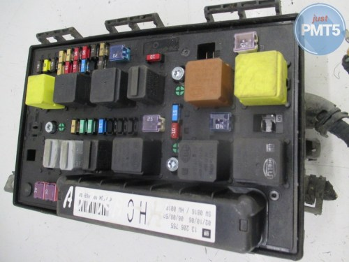 small resolution of 11by1 fuse box opel astra 2006 5dk008668 44 5dk008668