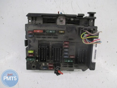 small resolution of fuse box peugeot 206 2002 965066380 bsmb5 965066380 11by1 9478
