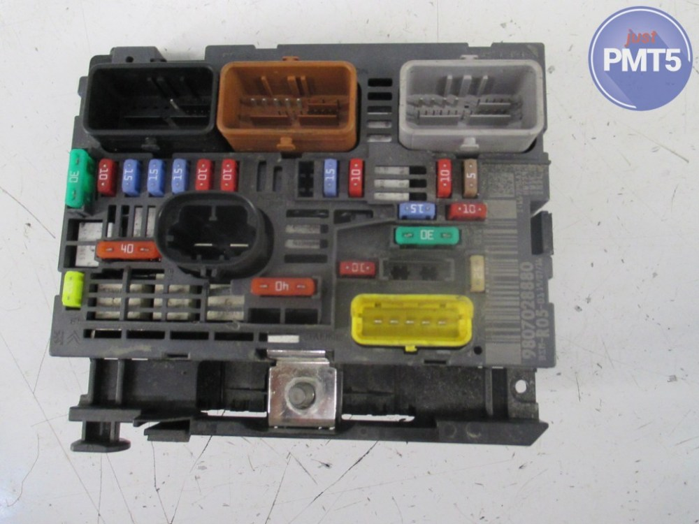 medium resolution of fuse box citroen c3 2003 9636079380 11by1 9483