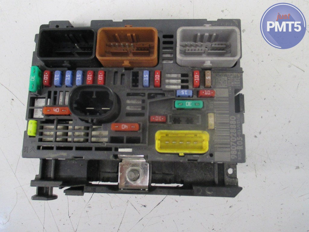hight resolution of fuse box citroen c3 2003 9636079380 11by1 9483