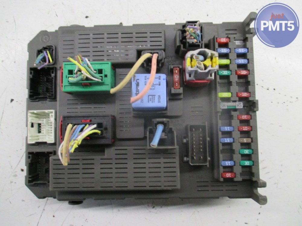 medium resolution of fuse box peugeot 307 2002 11by1 9489