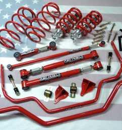 1965 1968 ford galaxie suspension kit [ 1048 x 786 Pixel ]