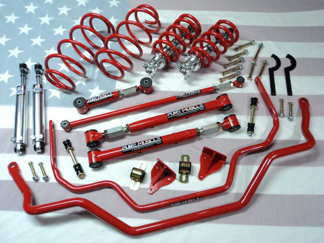 hight resolution of 1965 1968 ford galaxie suspension kit