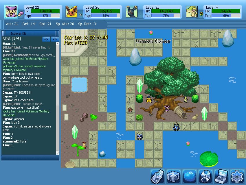 Pokémon Mystery Universe map 3