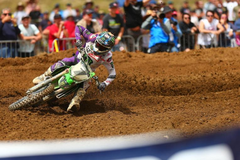 Tomac was impressive en route to a 1-1 sweep.