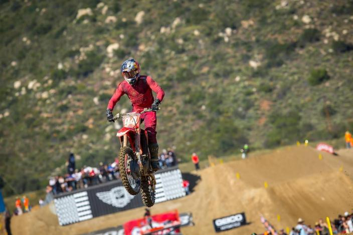 Roczen rounded out the overall podium in third.