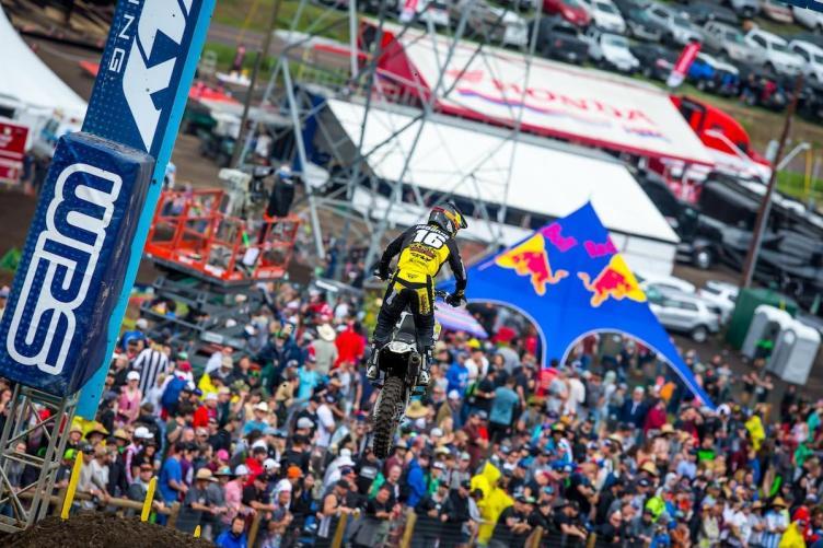 Osborne captured his first 450 Class podium result.