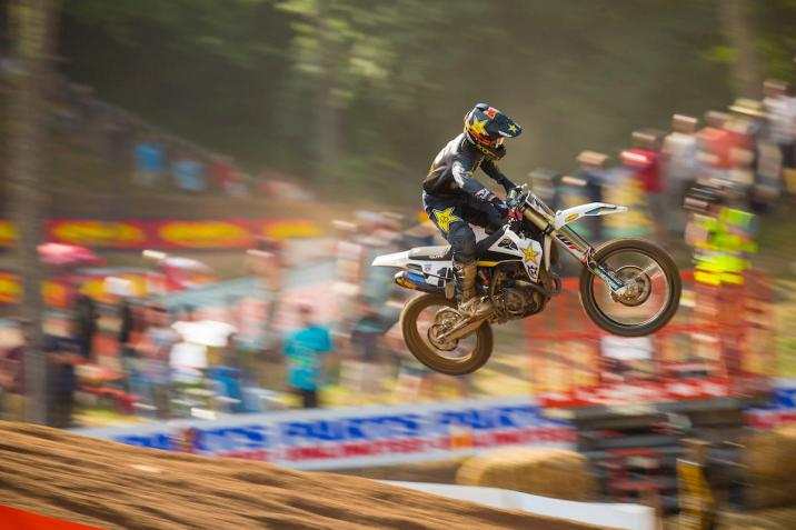 Osborne enjoyed a career-best outing, highlighted by his first moto win.
