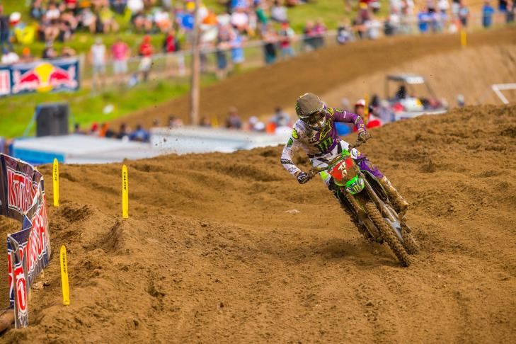 Tomac's third-place finish allowed him to add to his championship lead.