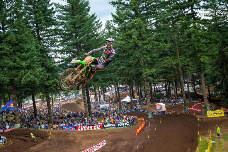 Tomac had arguably his most dominant outing of 2019 en route to the Washougal victory.