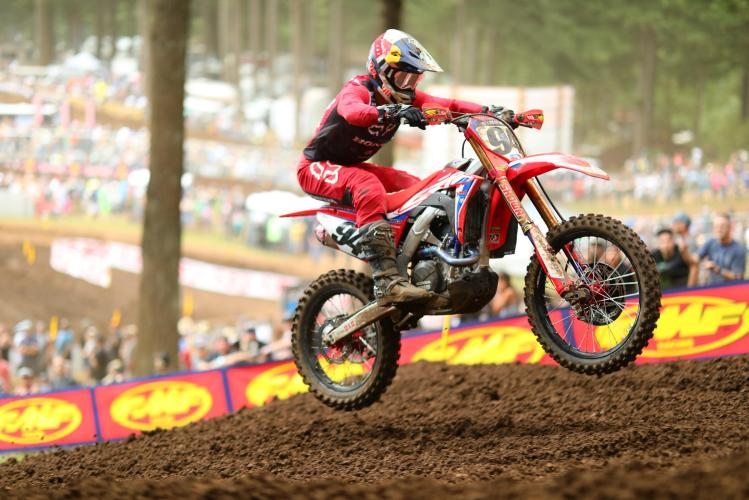 Roczen made his long-awaited return to the overall podium.