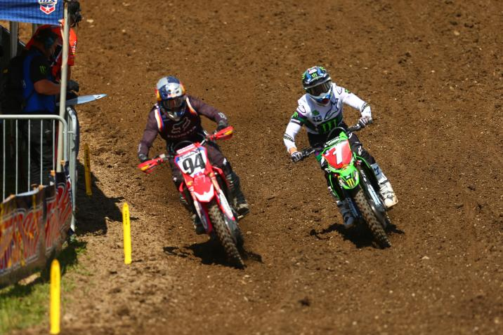 Roczen was dominant both motos en route to his third win of the season.