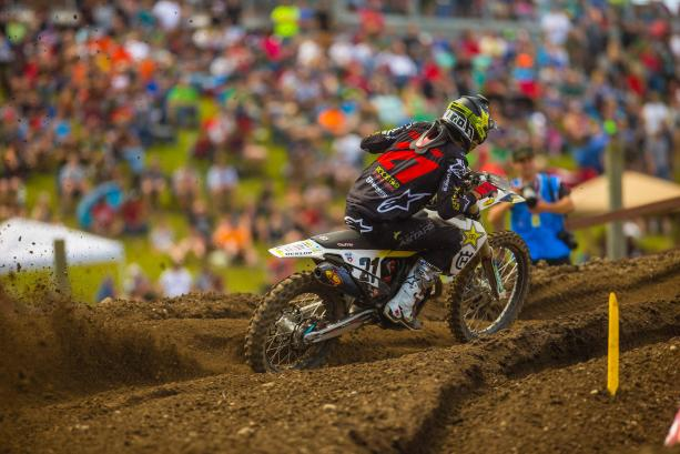 In his second trip, Anderson will spearhead the team in MXGP.