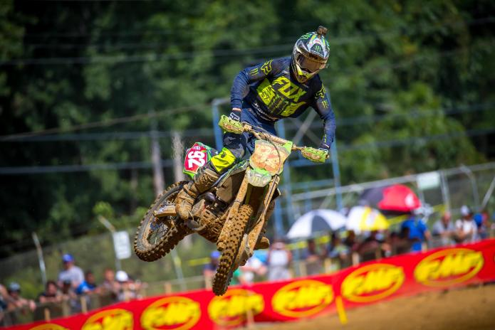 Cianciarulo was second on the day and extended his championship lead to 30 points.