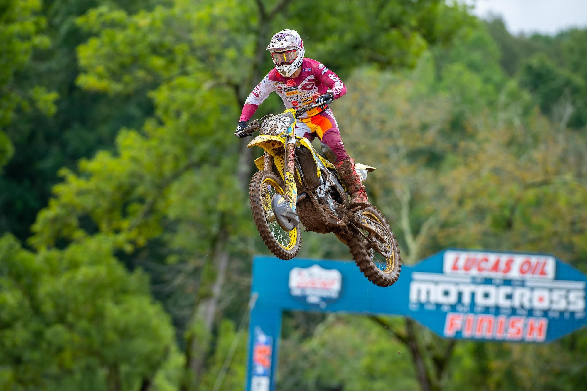 Alex Martin's Moto 2 win vaulted him to third overall.