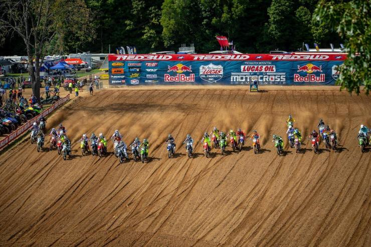 The doubleheader at RedBudMX presented two days of perfect racing weather.