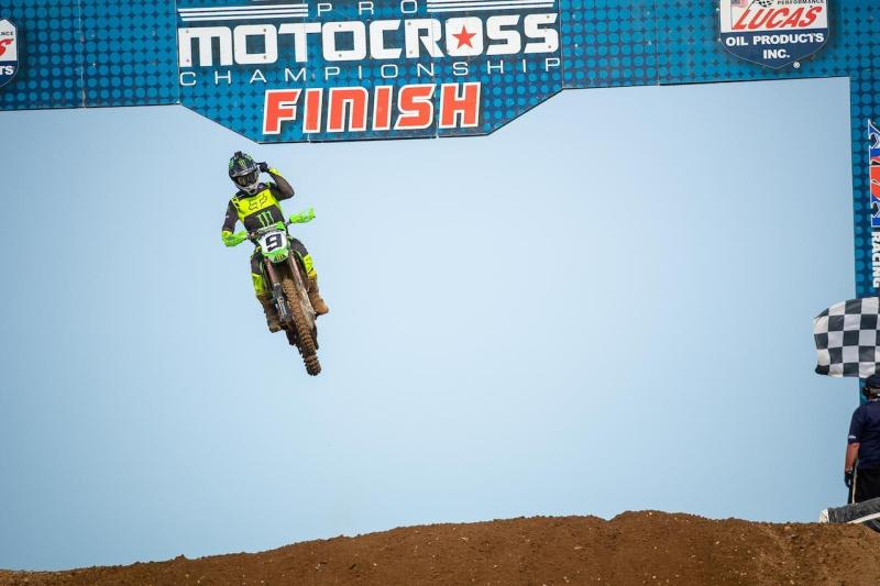 Adam Cianciarulo took home his first-ever 450 Class victory (1-3).