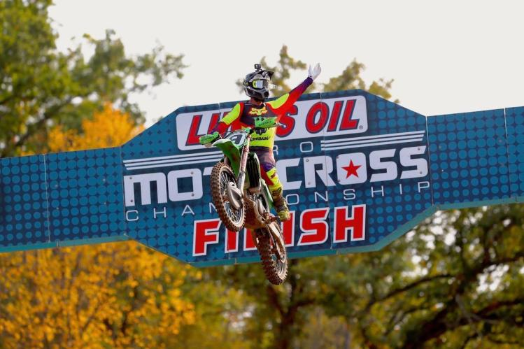 Adam Cianciarulo took his second consecutive victory with a 1-1 sweep.