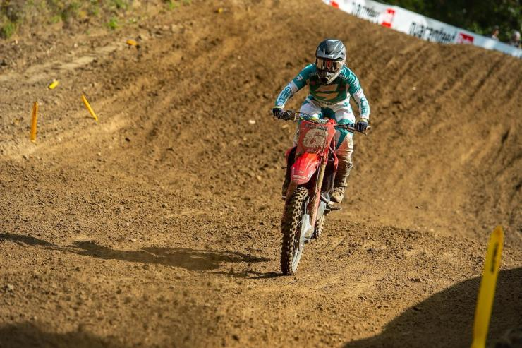 Jeremy Martin's 5-2 moto scores were good enough to secure second overall.