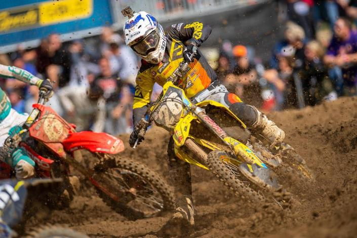 Alex Martin earned his second podium of the season with a third (4-4) in front of his home crowd.