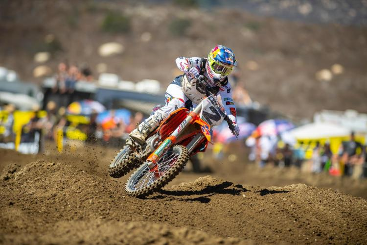 Cooper Webb finished third overall for the second straight week.