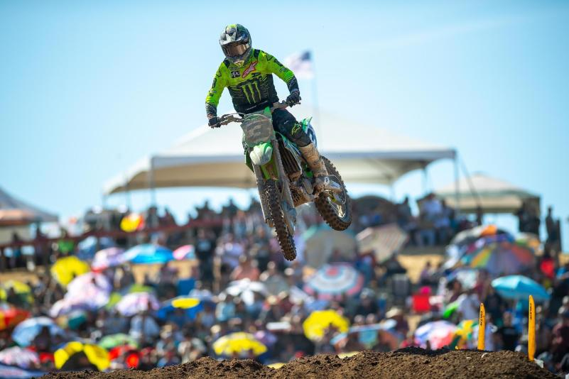 Eli Tomac just missed out on a third straight win.