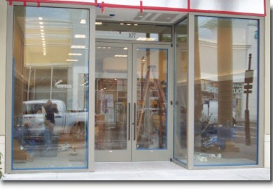 Commercial Frameless Glass Doors