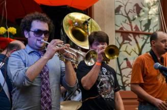 Trumpets rockin it out