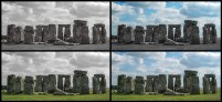 Stonehenge collage