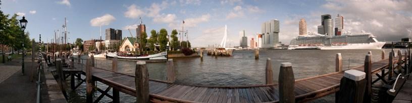 Rotterdam Skyline kleiner