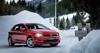 DEZENT-TZ-Felgen-poliert-VW-Polo-Winterreifen-ALufelgen