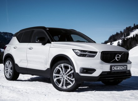 Best prepared for the next winter. DEZENT TA on the new Volvo XC40.