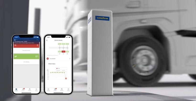 Aplikace Goodyear DrivePoint 2021