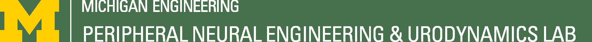 Peripheral Neural Engineering & Urodynamics Lab Logo
