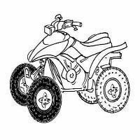 Les differents pneus avant pour quad Yamaha YFM 350 Raptor